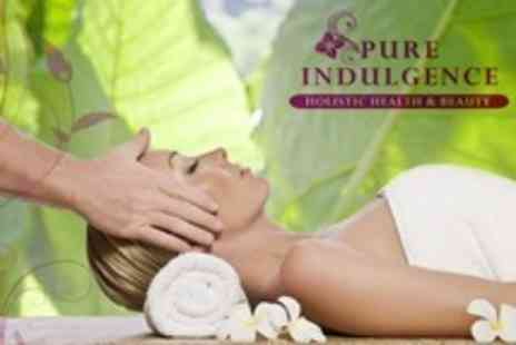 Pure Indulgence - Indian Head Massage Plus Reiki or Reflexology Session - Save 67%