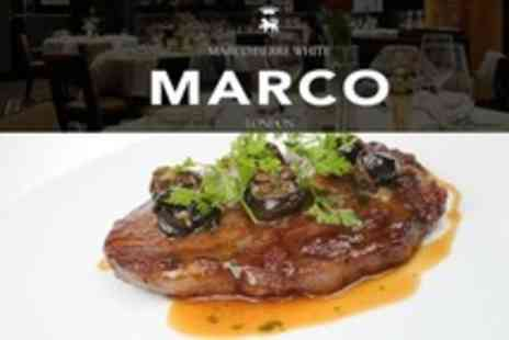 MARCO - Two Courses Including Steak or Fish For Two With Cocktails - Save 60%