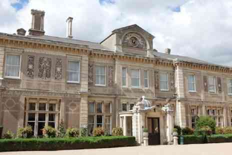 Down Hall Hotel - Overnight stay for 2 with 3 course dinner, champagne and breakfast - Save 58%
