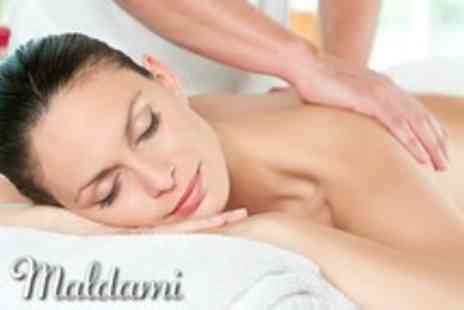 Maldami - Swedish, Aromatherapy, Reflexology or Indian Head massage plus a facial - Save 66%