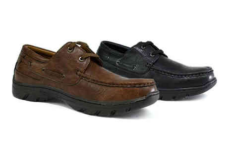 Shoe Fest - Pair of mens shoes choose your colour and UK size - Save 63%