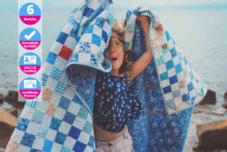 International Open Academy - Quilting with kids CPD certified online course - Save 85%