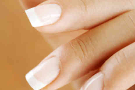 Q Beauty - Full Set of OPI Nail Enhancements or Overlays - Save 57%