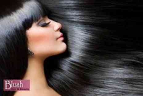 Blush Hair & Beauty - Cut, restyle, blow dry & plus an Osmo deep conditioning treatment - Save 73%