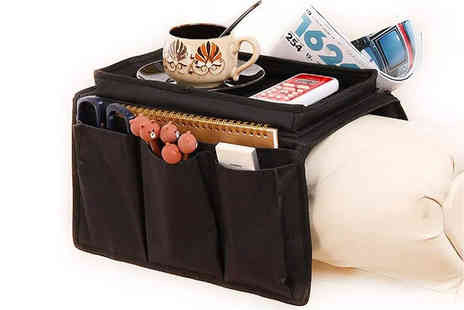 Magic Trend - Sofa tray armrest organiser - Save 60%