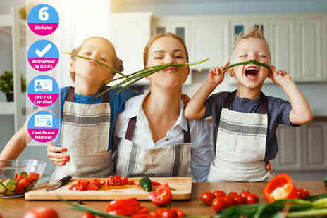 International Open Academy - CPD certified cooking with kids course - Save 85%