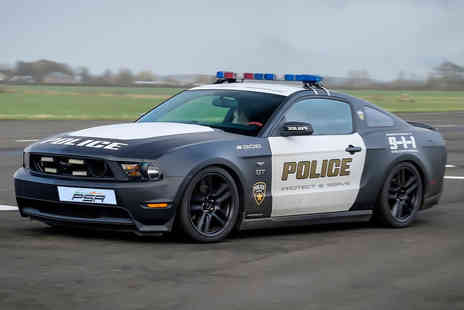 PSR Experience - Three lap V8 GT Mustang Police Car driving experience with a passenger lap - Save 61%