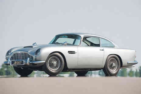 Car Chase Heroes - Aston Martin DB5 driving experience for one person - Save 51%