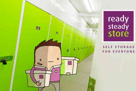 Ready Steady Store Services - £50 spend store your belongings in a clean, dry and secure unit - Save 90%