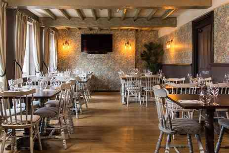 The Bay Horse Inn - 3 course meal for 2 in North Yorks pub - Save 42%