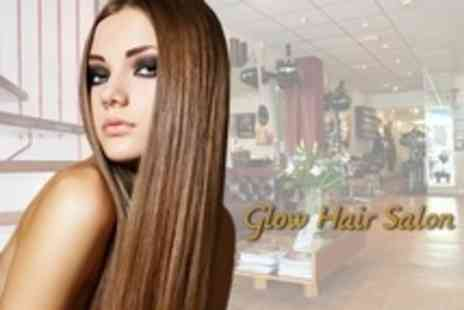Glow Hair Salon - Restyle Cut and Finish Plus L'Oréal Intensive Conditioning Treatment - Save 59%