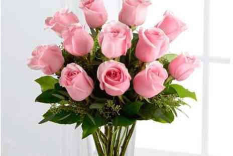 Virgin Experience Days - Beautiful Hand Tied Bouquet of Roses with a Personalised Message - Save 0%