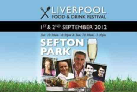 Liverpool Food and Drink Festival - Liverpool Food and Drink Festival Two Weekend Tickets - Save 53%