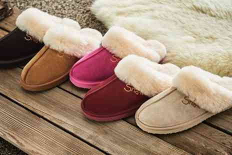 Groupon Goods Global GmbH - Snowpaw Australian Sheepskin Slippers - Save 20%