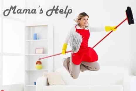 Mamas Help - Deep Clean or End of Tenancy Clean for House or Flat - Save 60%