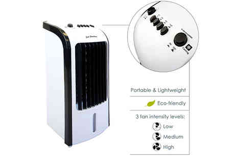 Garden & Camping - 3 in 1 Portable Air Cooling Unit with Fan - Save 67%