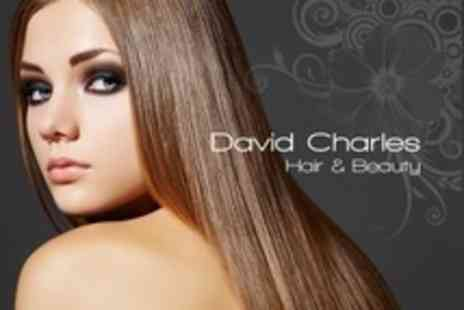 David Charles - La Brasiliana Keratin Treatment With Cut and Finish - Save 80%
