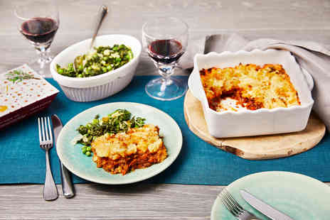 By Ruby - Classic & Comfort Food Box including six freshly frozen dishes - Save 51%