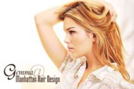 Gemma at Manhattan Hair Design - Half Head Highlights With Cut and Finish - Save 61%