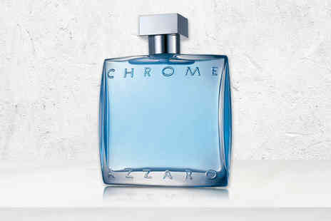 Wowcher Direct - 100ml bottle of Azzaro Chrome aftershave lotion splash - Save 57%