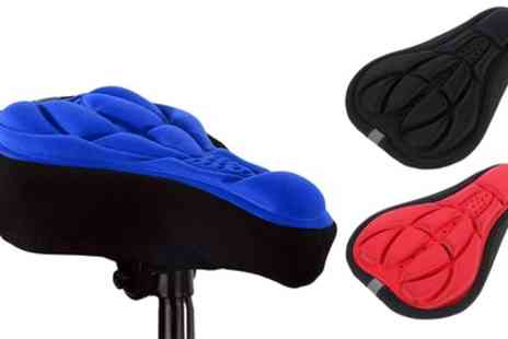 Groupon Goods Global GmbH - 3D Gel Bicycle Seat Covers - Save 0%
