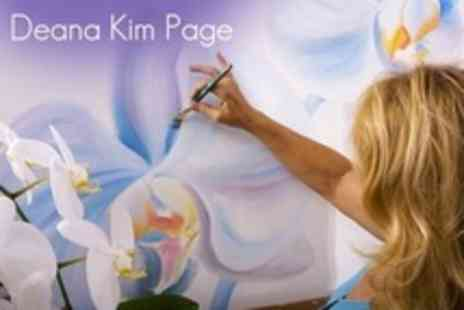 Deana Kim Page - Four Hour Art Workshop With Canvas to Take Home - Save 63%