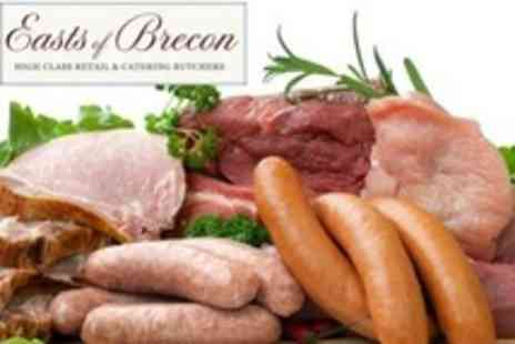Easts of Brecon - One Butchers Meat Packs Containing Steaks, Sausages, Burgers and Chicken Drumsticks - Save 31%