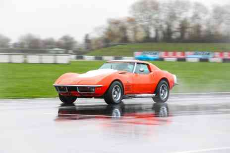 U Drive Cars - Three lap driving experience in a 1968 Chevrolet Corvette Stingray C3 - Save 49%