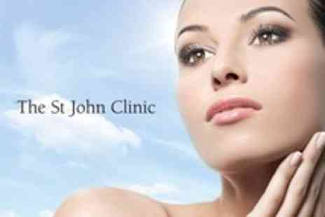 St John Clinic - Fraxel Laser Skin Revitalising Treatment Three Sessions For Face or Decollete - Save 59%