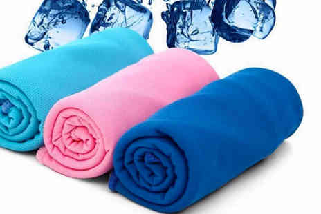 Magic Trend - Instant cooling ice towel - Save 65%