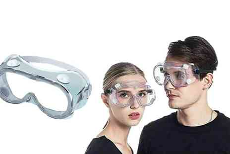 Wishwhooshoffers - Anti fog safety goggles - Save 80%