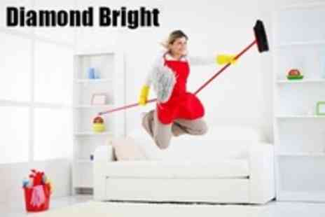 Diamond Bright - Carpet Cleaning For Two Rooms - Save 57%