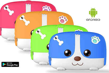 Bag a Bargain - 512MB or 1GB iPuppy 7inch Interactive Kids Tablet - Save 65%