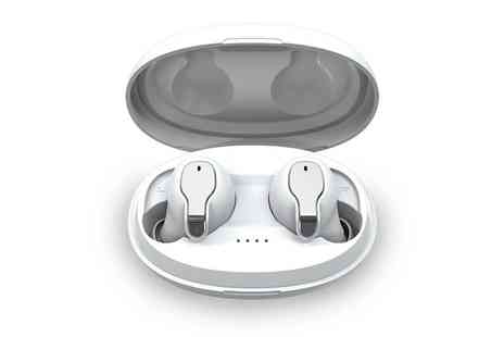 Magic Trend - Pair of Apple compatible Bluetooth 5.0 wireless earbuds - Save 85%