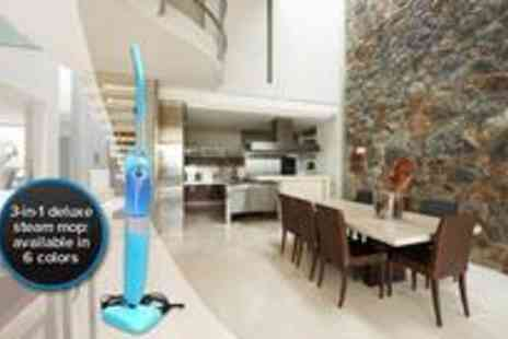 The Gadget Folk - Three in one deluxe steam mop - Save 52%