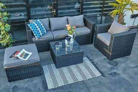 Dreams Outdoors - Monaco five seater rattan outdoor sofa set - Save 46%