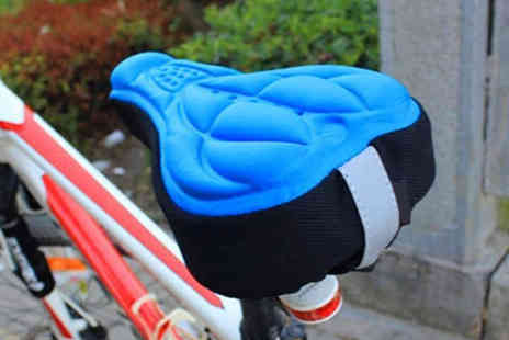 hey4beauty - 3D bike seat cover choose from four colours - Save 0%