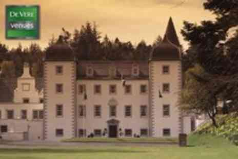 Barony Castle - Luxury 1 Night stay for 2 in Peebles - Save 51%