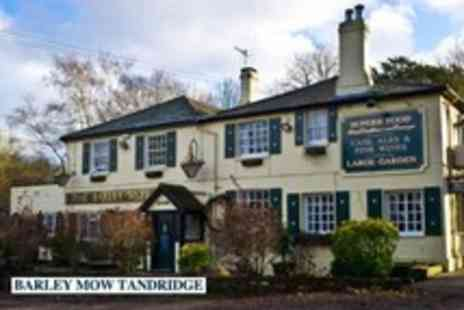 The Barley Mow - 1 Night stay for 2 including 3 course meal and breakfast in Surrey - Save 49%