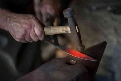 Oldfield Forge - Knife forging experience for one person - Save 42%