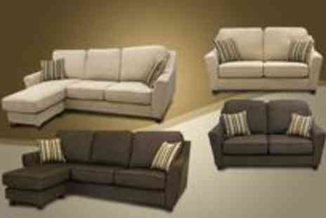 Smart Line Furniture - Capri two seater and corner sofa set - Save 0%