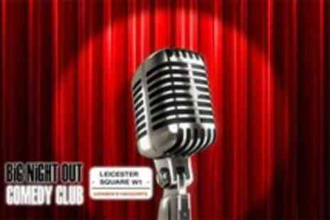 Big Night Out Comedy Club - 2 VIP comedy tickets including drinks, nacho platte & nightclub entry - Save 63%