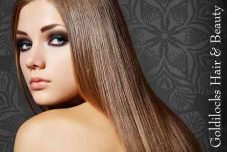 Goldilocks Hair and Beauty - Brazilian Keratin Blow Dry - Save 65%