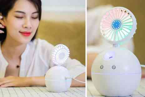 Secret Storz - Mini Usb portable humidifier fan - Save 0%