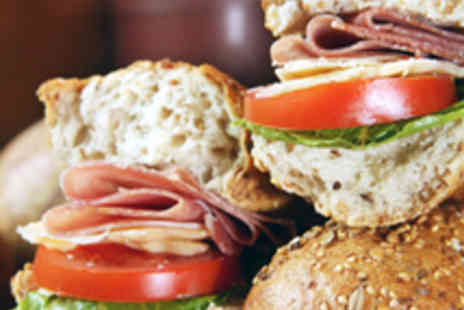 Baguette Express - Two Baguettes Two Teas or Coffees and Two Cakes - Save 52%