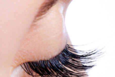Crew Hair & Beauty - Eyelash Extensions with Eyebrow Wax and Tint - Save 57%