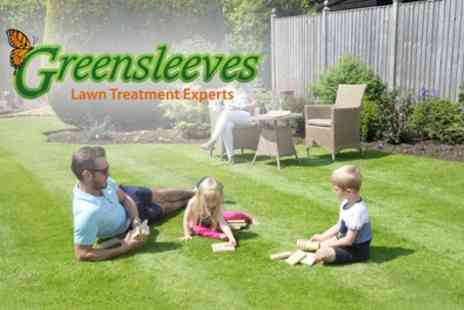 Greensleeves Lawn Care - Up to 400 Sq Meters of Lawn Treatment, Weed Control - Save 60%