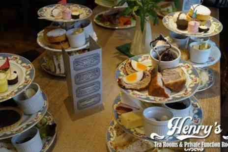Henrys Tea Room - Choice of Afternoon Tea for Two or Four - Save 35%