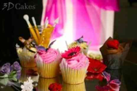 3D Cakes - Cupcake Decorating Masterclass For One - Save 72%