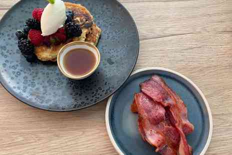 The Cloak & Dagger - Two course brunch with bottle of Prosecco for two people - Save 53%